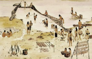 Fishing-Lenapes